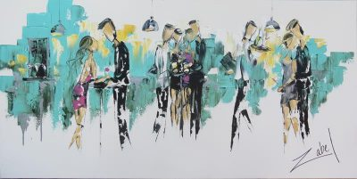 Zabel Artiste-Peintre - Soiree VIP - 30x60_web