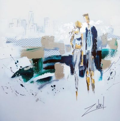 Zabel - Loving Beach and City - 48x48_web