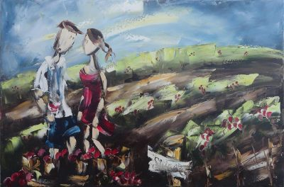 Zabel- Shiraz en production, Huile, 24x36_web