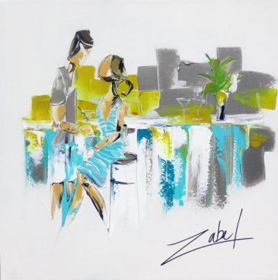 Zabel - Sunny Bistro - 24x24_web
