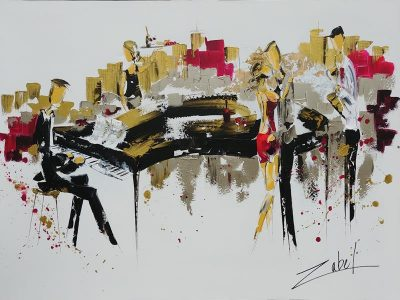 Jazz in the City 36x48