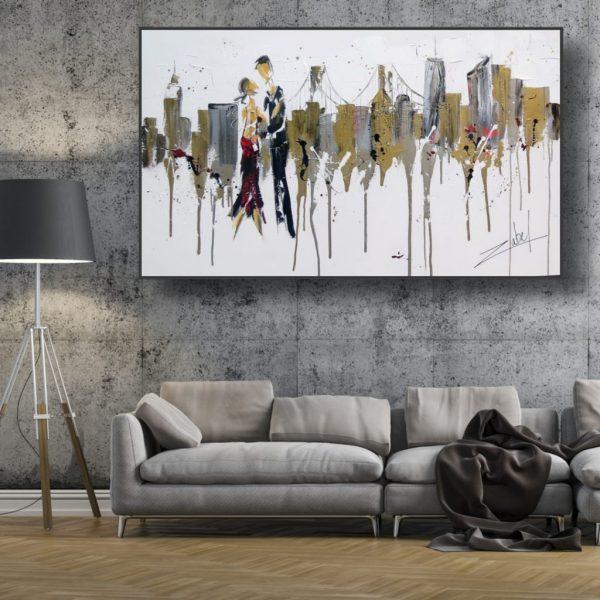 Dancing in New-York Living room design