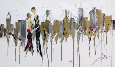 Dancing in New-York 36x60