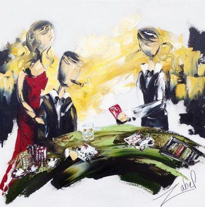 Zabel Artiste-Peintre_Black Jack_24x24_web_web