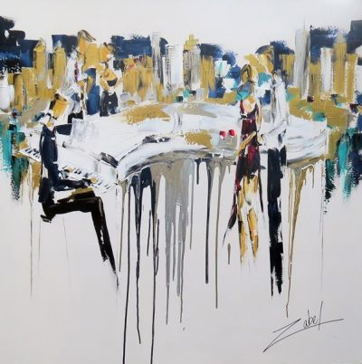 Music in New York City 60x60
