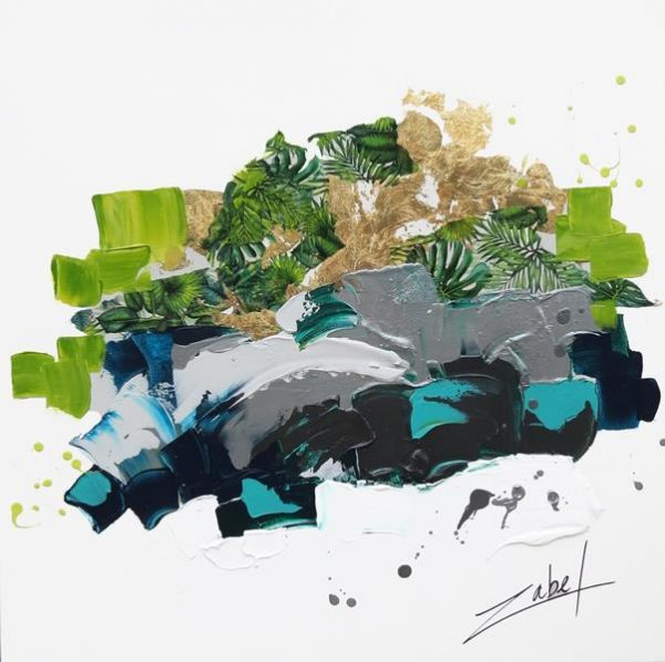 Zabel - Island Abstract - 80x80 cm_web