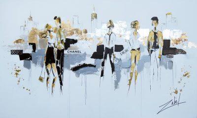 Fashion City 36x60