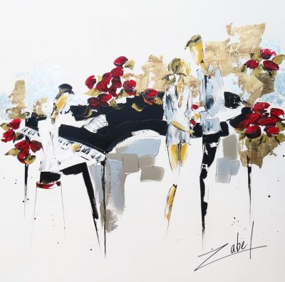 Zabel - Music and roses - 40x40_web