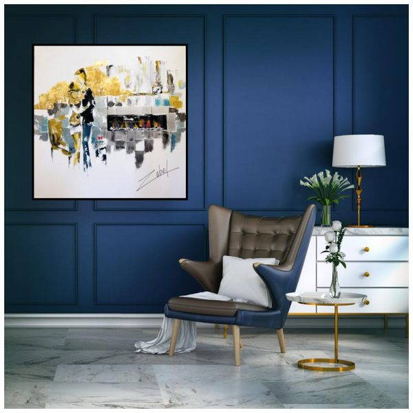 Ensemble au Chalet Blue Pantone 2020 interior_web