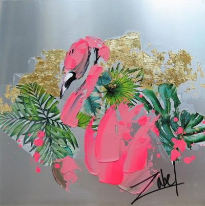 Zabel - Metalic Flamingo 12x12 - Copie_web