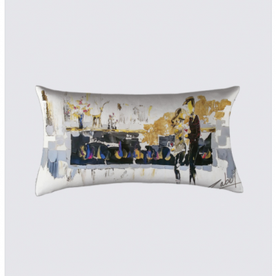 Love au Chalet Chic cushion