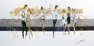 Champagne Party 36x72
